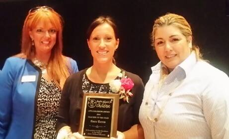 CCCR employee is NAFC Teacher of the Year!