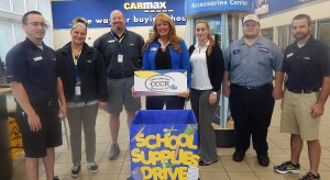 CarMax Donates Back-to-School Supplies