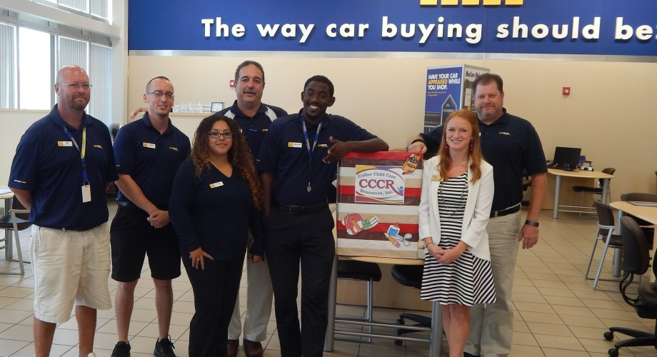 CarMax Donates Back to School Supplies to CCCR