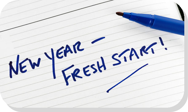 new year fresh start graphic - Collier Child Care Resources