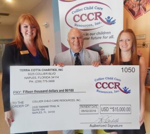 CCCR Receives Donation for $15,000