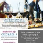 RSVP now for CCCR event