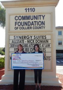 Community Foundation grant monies for CCCR