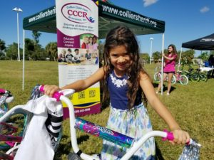 CCCR Gives Away Over 50 Bicycles During United Way Build-A-Bike Give-away