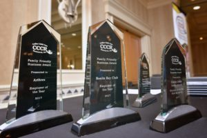 Forty-six Businesses Recognized during CCCR's  Family Friendly Business Awards Ceremony