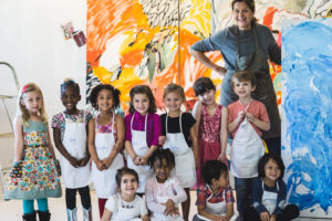Little Wonders Visits Mally Khorasantchi's Art Studio