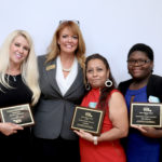 Three early childhood teachers receive Teacher of the Year Awards