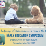 Join Us For The Early Childhood Education Symposium With Ron Davis