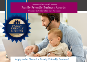 Application to be Named a Family Friendly Business